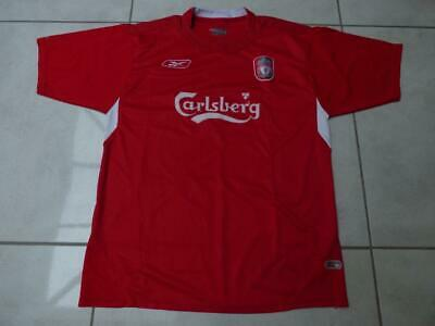 Classic Liverpool FC home shirt by Reebok. Adult Large 42/44 chest