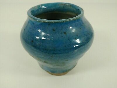 Art Pottery Planter Artisan Hand Thrown Crafted on Potters Wheel