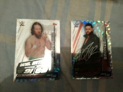 WWE Slam Attax Universe Limited Edition Cards x2