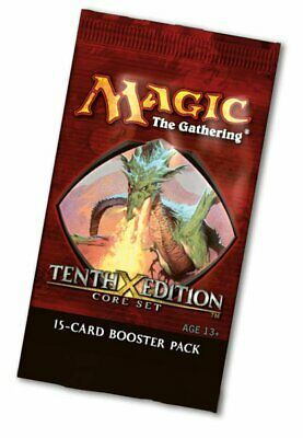 10th Edition Booster Pack (ENGLISH) FACTORY SEALED BRAND NEW MAGIC MTG ABUGames