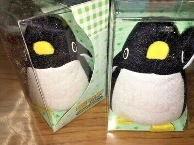 Reuseable Moisture Removing Doll (Penguin) for Drawers / Small Spaces, Set of 2