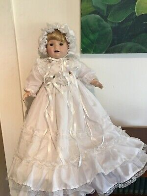 "Heritage Heirloom Bisque Porcelain Doll - ""Jennifer"""