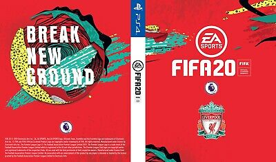 FIFA 20 Team Covers - Select your team! PS4 or XBOX ONE! PRINTED COVERS! XB1