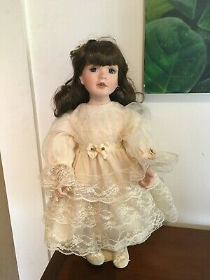 "Georgetown Collection Bisque Porcelain Doll - ""Julie"""