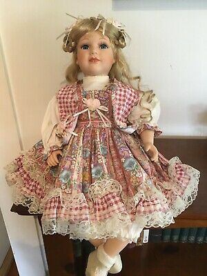 "Hillview Lane Bisque Porcelain Doll - ""April"""