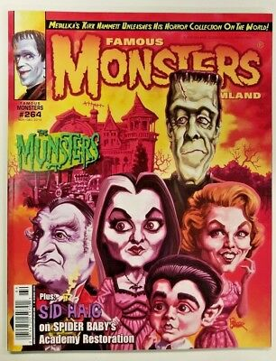 Famous Monsters of Filmland #264 - Munsters Magazine 2012