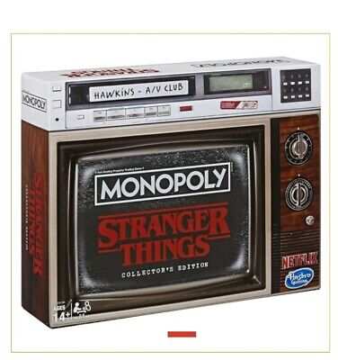 Monopoly Game Stranger Things Collector's Edition