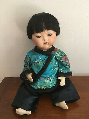 Porcelain Asian Armand Marseille 353 German Bisque Doll