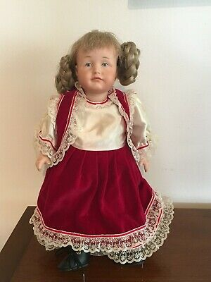"German Reproduction Porcelain Doll - ""Helga"""