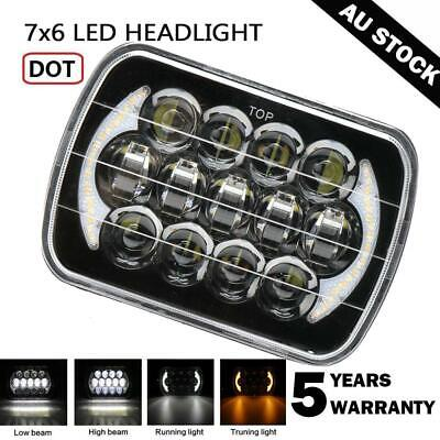 """1x LED Upgrade Head Light 5X7"""" for HILUX Headlight Replacement High low Beam H4"""