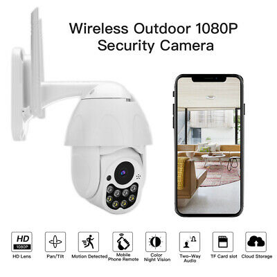 1080P Wireless IP Camera Speed Dome Infrared Outdoor Night Vision Video Recorder