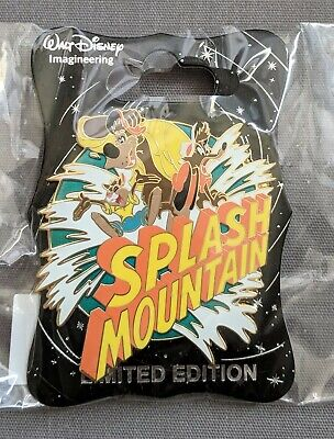 D23 Expo 2019 WDI MOG Splash Brer Rabbit Fox And Bear Color Variant Yellow Pin