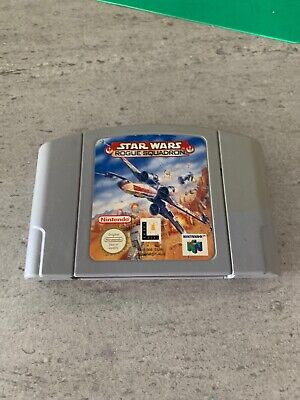 Star wars rogue squadron Nintendo 64 🇦🇺 Seller Free And Fast Postage