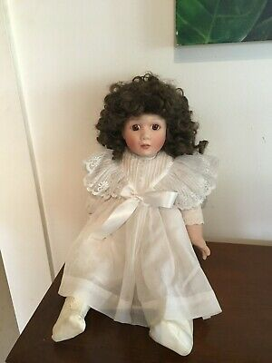 "Bisque Porcelain Doll - ""Rhonda"""