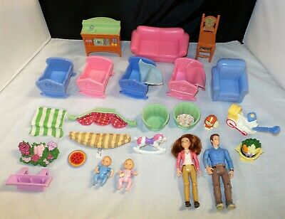 Fisher Price Loving Family Twin Time Furniture People & Accessories - YOU CHOOSE