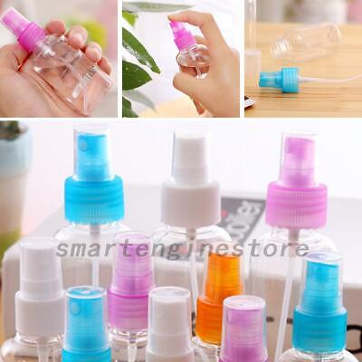 4Pcs 30/50/100ML Travel Clear Plastic Perfume Atomizer Empty Small Spray Bottle