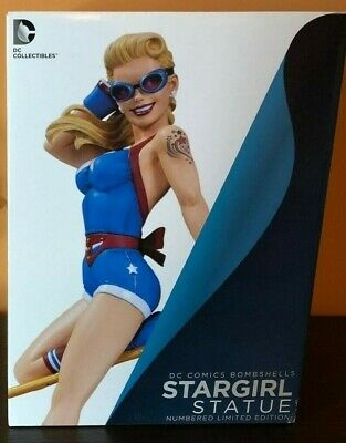 DC Comics Bombshells - Stargirl Statue NEW IN BOX DC Collectibles (Damaged Box)