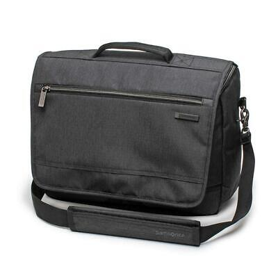 Samsonite Modern Utility Messenger Bag Laptop Charcoal Heather