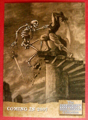 RAY HARRYHAUSEN - PROMO CARD - Strictly Ink 2006 - Jason And The Argonauts