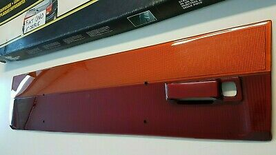 FIAT UNO MK1 TURBO FIRE SX STING Bootlid Tailgate Tail Lights Panel Heck blende