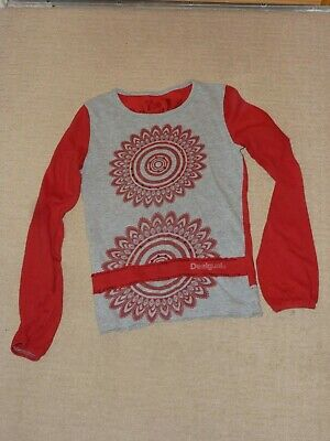 Desigual Top Age 7-8 Been Repaired