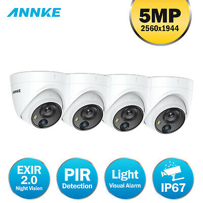ANNKE 5MP HD CCTV Dome Camera PIR Outdoor for Home Surveillance Security System