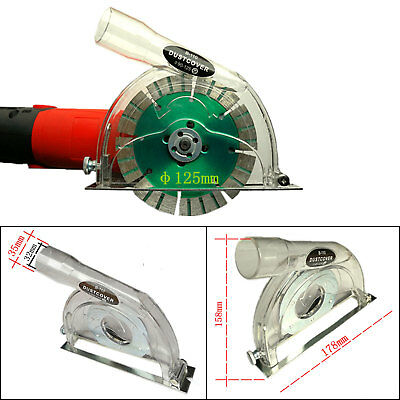 """4"""" 5"""" Protective Angle Hand Grinder Dust Shroud Cover Hood Cutting Safety Guard"""