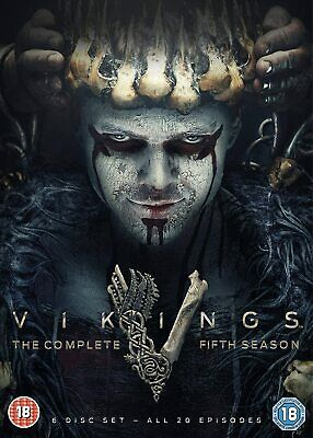 THE VIKINGS Series 5 SEALED/NEW Parts 1 + 2 Complete fifth Season 5039036092999