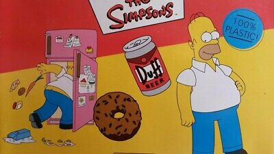 "Nuevo The Simpsons/"" Homer Dunk /""Simpson Llavero"