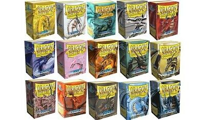 Dragon Shield Classic -Choose Your Art- 100 Protective Sleeves Standard Size