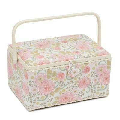 HobbyGift Extra Large Sewing Basket - Fable Floral Design Gift