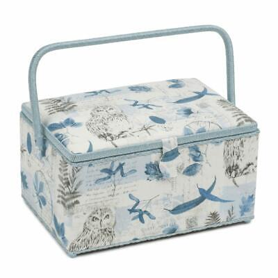 HobbyGift Extra Large Sewing Basket - Wise Owl Design Gift