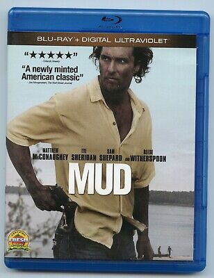 Mud (Blu-ray Disc, 2013) Opened. Never Viewed. Excellent Condition