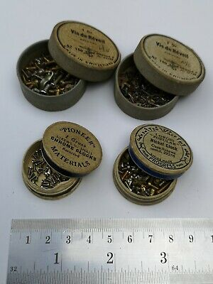 Vintage Clock Screws Assorted - Useful Spares For Clock Repair (Z1)