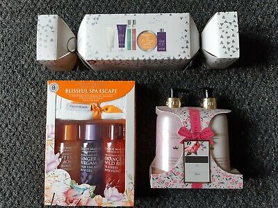 Ladies bath sets shower gel bubble bath Mark's spencer bailey and Harding boots