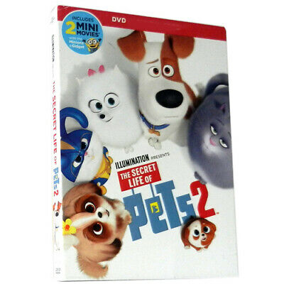 The Secret Life Of Pets 2 Brand New Dvd 2019 Factory Sealed - Ship Fast!!!