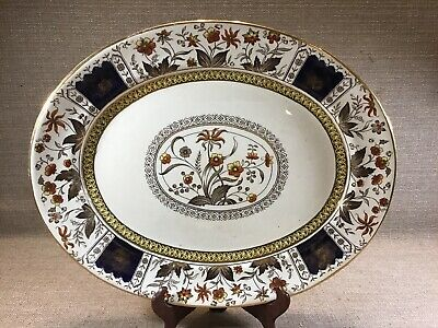 RARE Antique Aesthetic Transferware Sampson Hancock Norman Salad Dessert Plate