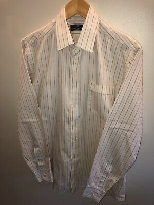 """Vintage Givenchy Formal Striped Shirt Size 16"""" XL"""