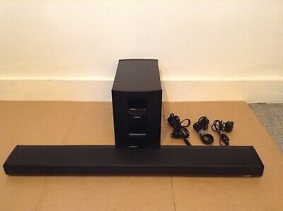 bose lifestyle 135 sound bar and subwoofer only(wireless )in excellent condition