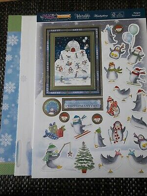 Hunkydory topper set - Penguin party time!
