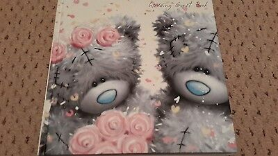 Me to you wedding guest book new