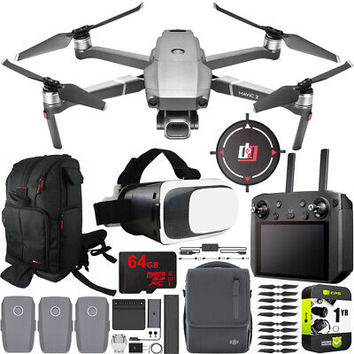 DJI Mavic 2 Pro Drone with Hasselblad Camera & Smart Controller Fly More Bundle