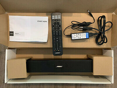 Bose Solo 5 TV Sound Bar System - Manuf. 2019