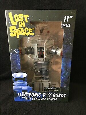 2019 Lost in Space 11'' Electronic B-9 Robot in box Diamond Select Toys NEW