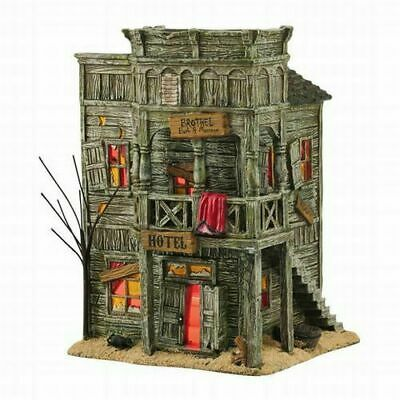 Department 56 Halloween Village Last Chance Hotel 4044880 New In Box Retired