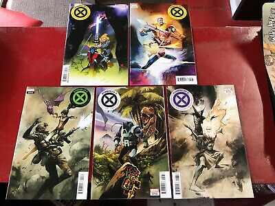 Powers Of X #3-6 1:10 Huddleston + Secret Variants Lot Of 5 Marvel Comics Nm
