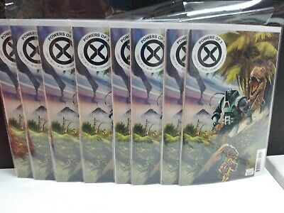 Wholesale Lot Of 8 Powers Of X 5 1:10 Huddleston Variant Comics