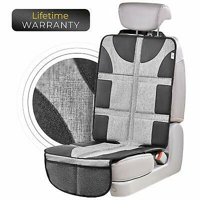 Helteko Car Seat Protector with Thickest Padding - Large Cover for Baby Carseat
