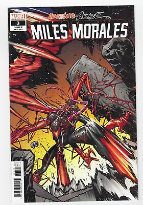 Absolute Carnage Miles Morales #3 Vf Jacinto 1:25 Code Variant New Marvel Comics