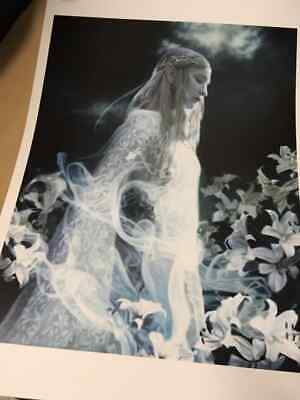 Galadriel Lady of the Woods Lord of The Rings Art print 14x20 Poster (New)